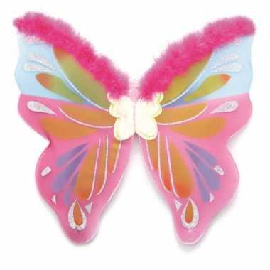 Gekleurde vlinder vleugels