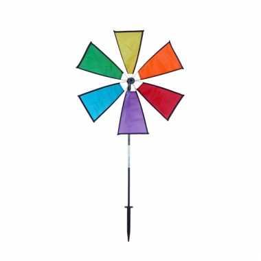 Gekleurde windmolen 40 x 80 cm