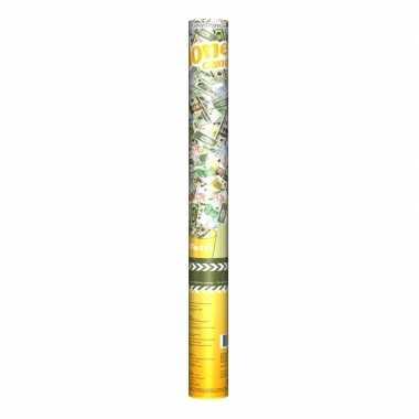 Geld confetti kanonnen 60 cm