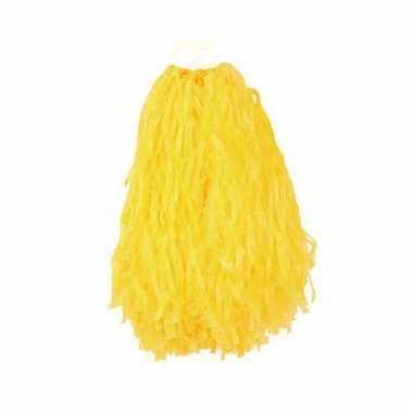 Gele cheerball 28 cm
