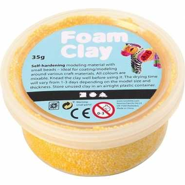 Gele foam clay 35 gram