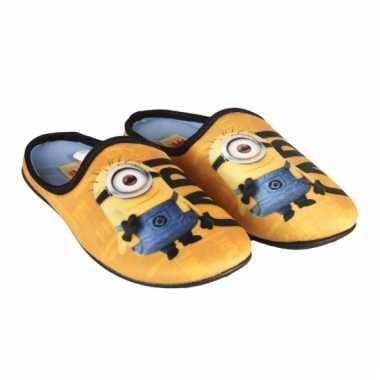 Gele minions sloffen voor kids