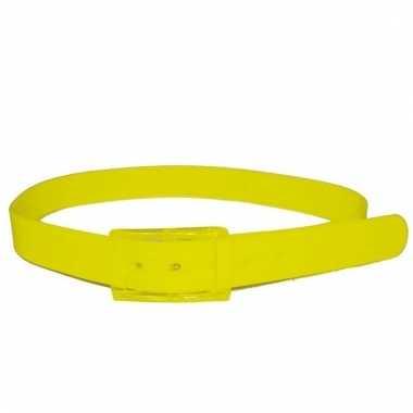 Gele riem voor volwassenen