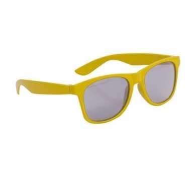 Gele wayfarer zonnebril voor kinderen