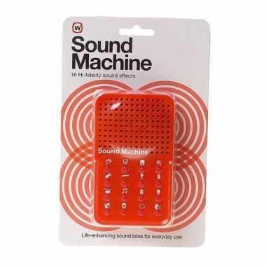 Geluidsmachine fun geluiden