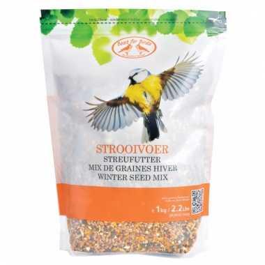 Gemixte buiten vogelvoer mix 1 kilo