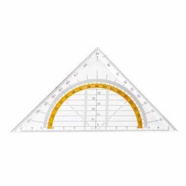 Geo driehoeken 14 cm
