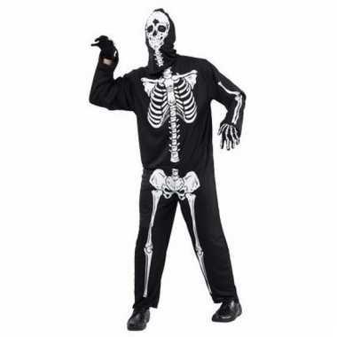 Geraamte/skeletten kostuum voor volwassenen