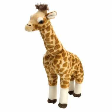 Gevlekte giraffen knuffels 43 cm knuffeldieren