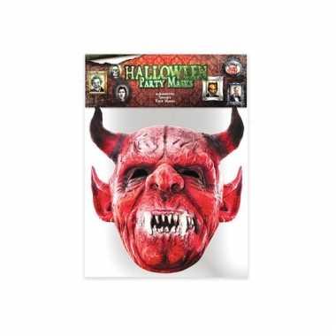 Gezichtsmasker duivel