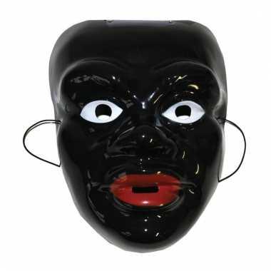 Gezichtsmasker zwarte piet