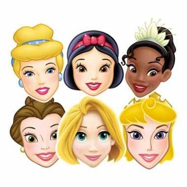 Gezichtsmaskers disney prinsessen