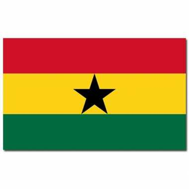 Ghanese vlag 90x150 cm