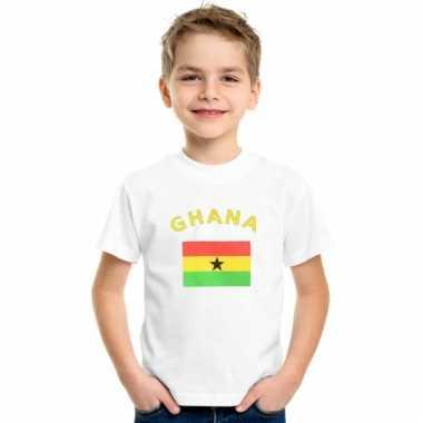 Ghanese vlag t-shirts voor kinderen