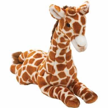 Giraffe knuffels liggend 35 cm