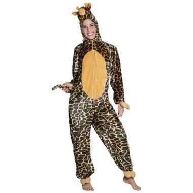 Giraffe onesie dierenpak kind