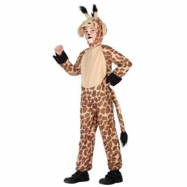 Giraffe onesie verkleedset voor kinderen