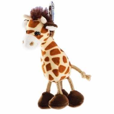 Giraffe sleutelhanger 13 cm