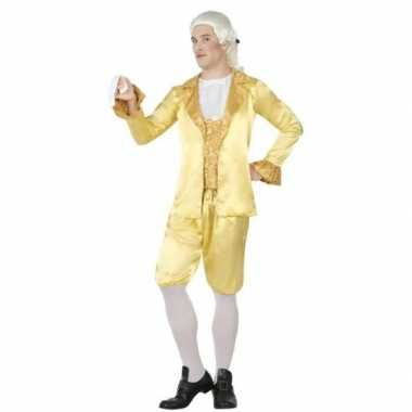 Goedkoop lakei verkleed kostuum voor heren