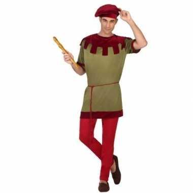 Goedkoop middeleeuws kostuum voor heren