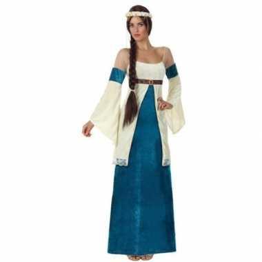 Goedkope middeleeuwse prinses verkleed jurk voor dames