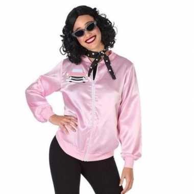 Goedkope rock and roll verkleed jasje voor dames