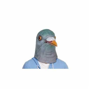 Grijze duif masker