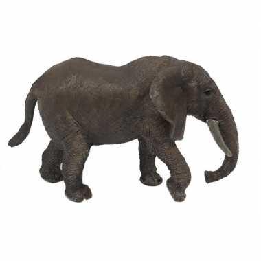 Grijze speelgoed olifant 15 cm