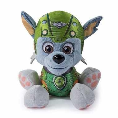 Groene paw patrol knuffel 15 cm