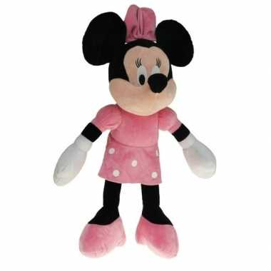 Grote pluche minnie mouse knuffel 40 cm