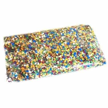 Grote zak confetti 10 kilo