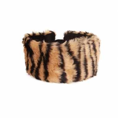 Haarband met tijgerprint voor dames