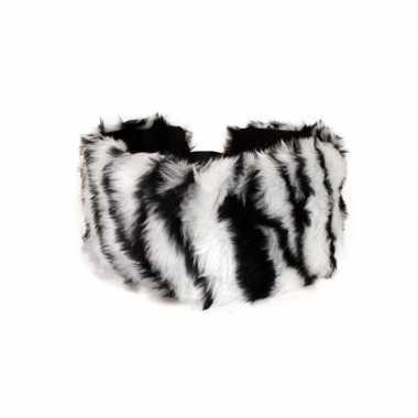 Haarband met zebraprint voor dames