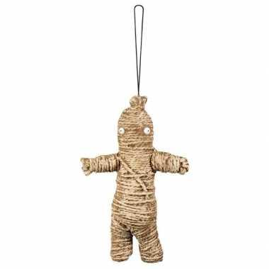 Halloween decoratie voodoo poppetje 33 cm