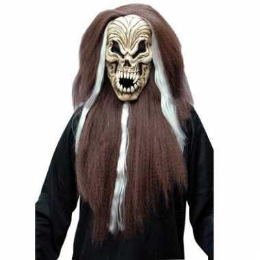 Halloween schreeuwen schedel masker