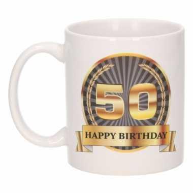 Happy birthday mok / beker 50 jaar