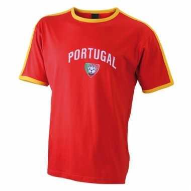 Heren t-shirt met portugal print