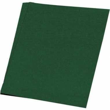 Hobby papier donkergroen a4 100 stuks