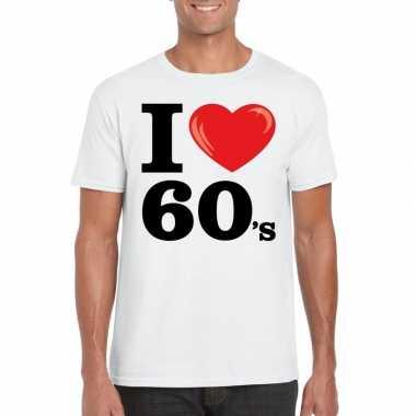 I love 60's t-shirt wit heren