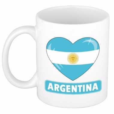 I love argentinie mok / beker 300 ml