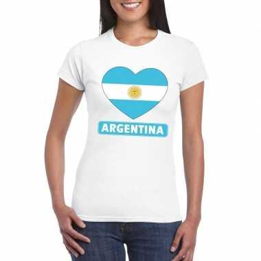 I love argentinie t-shirt wit dames