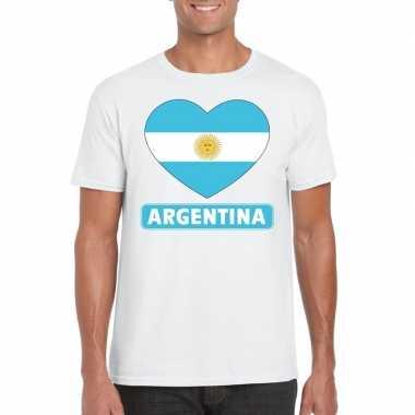 I love argentinie t-shirt wit heren