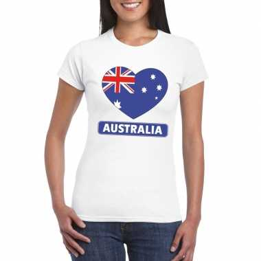 I love australie t-shirt wit dames