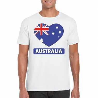 I love australie t-shirt wit heren