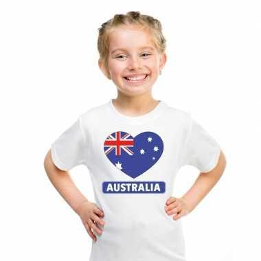 I love australie t-shirt wit kinderen
