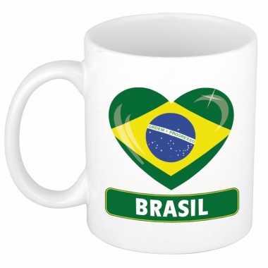 I love brazilie mok / beker 300 ml