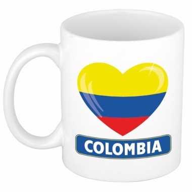I love colombia mok / beker 300 ml