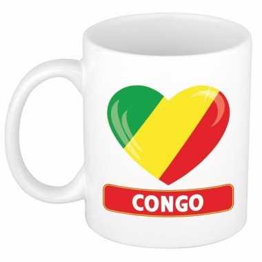 I love congo mok / beker 300 ml
