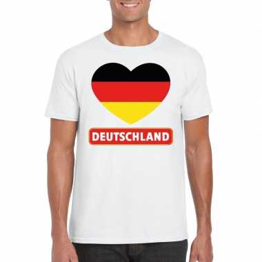 I love duitsland t-shirt wit heren