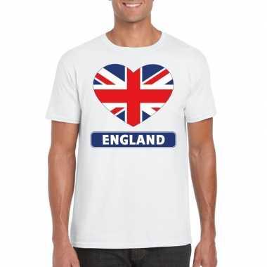 I love engeland t-shirt wit heren